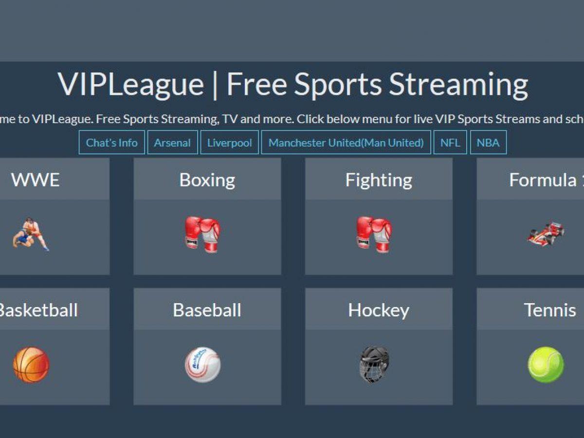 VipLeague: Top 5 Viral Sports Streaming Alternatives - MySportDab