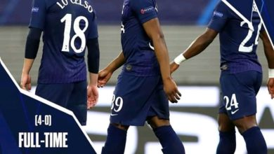 Photo of FT: Rb Leipzig 3-0 Tottenham, Spurs Crash Out Of Uefa Champions League On 4-0 Aggregate (Video Highlight)