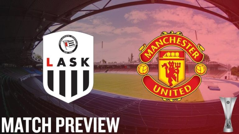 LASK Vs Manchester United: Predicted Line-up, Kick-off ...