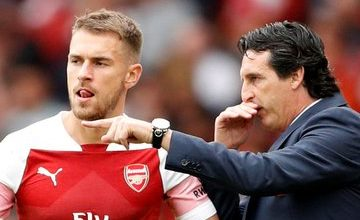 """Photo of """"Ramsey Left To Win Trophies"""" – Unai Emery Aims Dig At Arsenal"""