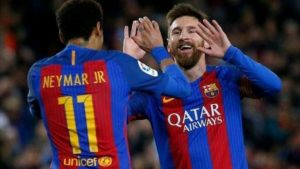 Barcelona Messi Neymar