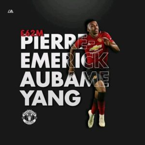 Aubameyang Gunners