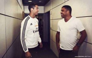 Delima And Cristiano Ronaldo