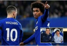 Photo of 'His Tactics Bored Hazard And Willian' – Zola Revealed How Chelsea Duo Suffered Under Sarri