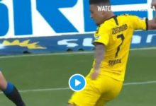 Photo of WATCH: Jadon Sancho Scores Hat-trick In Borussia Dortmund 6-1 Win (VIDEO)