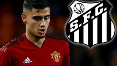 Photo of Man United Andreas Pereira Sets For Surprise Switch To Brazilian Club Santos