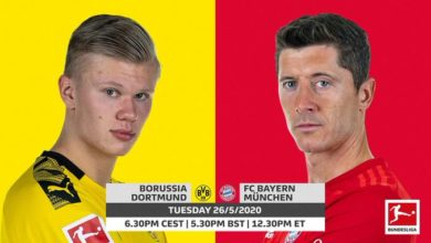 Photo of Borussia Dortmund Vs Bayern Munich, (Kick-off, Team News, Matches, Watch LIVE)