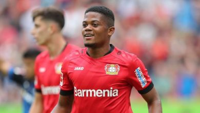 Photo of Manchester City Target £40m Bayer Leverkusen Winger Leon Bailey As Leroy Sane Replacement