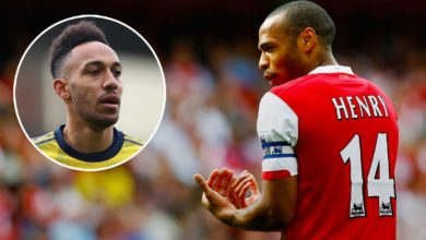Photo of 'I Can't Tell Him To Stay' – Thierry Henry Advise Aubameyang About Arsenal Exit Plan