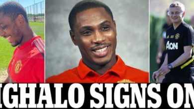 Photo of 'He Is Living His Dream' – Nigerians Reacts As Odion Ighalo Sign Man United Contract Extension