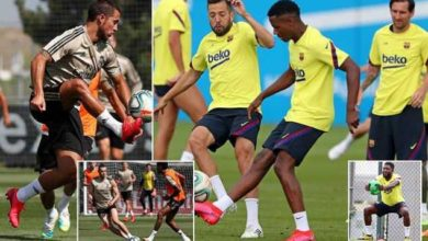Photo of Barcelona And Real Madrid Hold FIRST Full Team Training In 81 DAYS Ahead Of La Liga Restart!