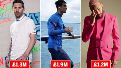 Photo of Cristiano Ronaldo Is The Highest Paid Athlete On Instagram During Lockdown (TOP 10)