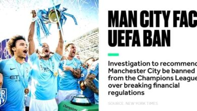 Photo of BREAKING: Manchester City Uefa Ban Appeal Live Update!