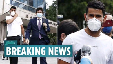 Photo of OMG! Atletico Madrid's Diego Costa Sentenced To Prison For Six Months