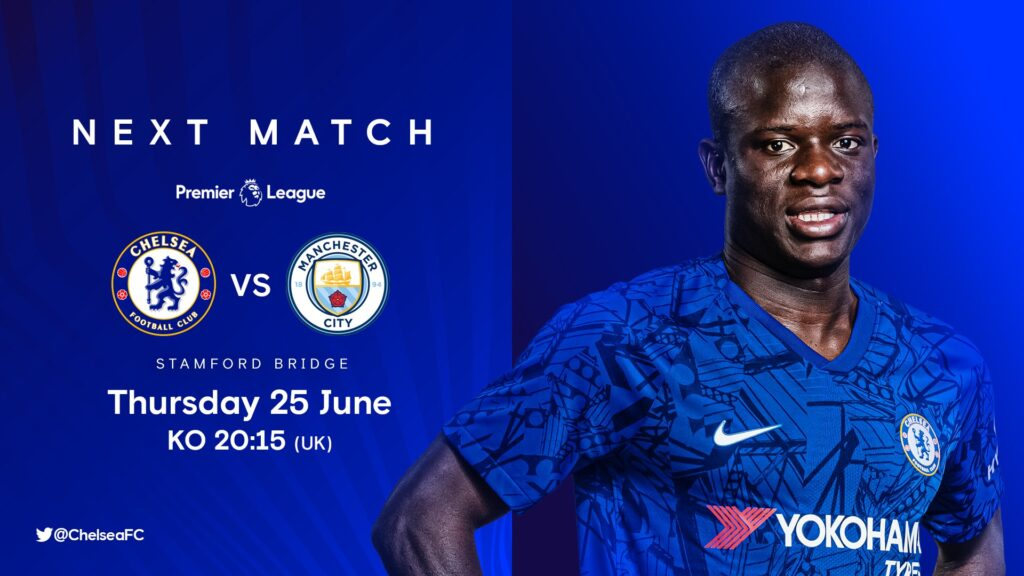 Chelsea Vs Manchester City: (Match Preview, Kick-off, Team ...