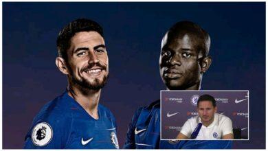 Photo of Frank Lampard Provides Kante Fitness Update And Talks Jorginho