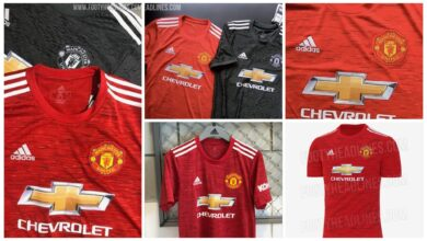 Photo of Manchester United New Kits For 2020/2021 Season LEAKED Online | SEE PHOTOS