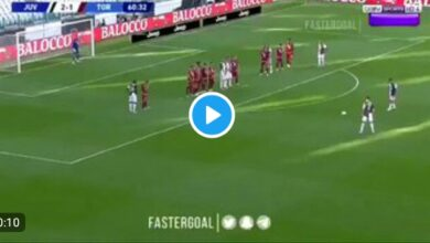 "Photo of ""At last!"": Cristiano Ronaldo Happy To Score His First Juventus Free-kick (VIDEO)"