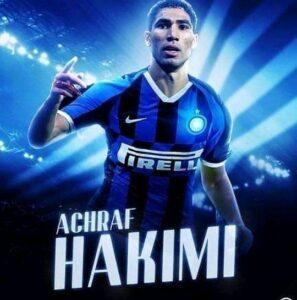 Hakimi Inter Milan