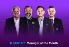 Photo of Frank Lampard And Solskjaer Leads EPL Coach Of The Month Nominees For June