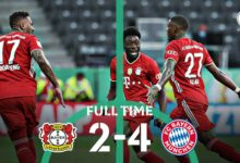 Photo of FT: Leverkusen 2-4 Bayern Munich, Lewandowski Strike Brace As Bayern Wins DPB Pokal (Match Highlight)