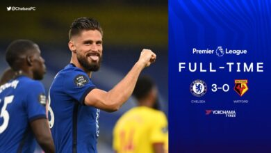 Photo of FT: Chelsea 3-0 Watford, Giroud Alongside Willian And Barkley Hit Target (Match Highlight)