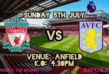 Photo of Liverpool Vs Aston Villa: (Match Preview, Kick-off, Team News, EPL Matches And More)