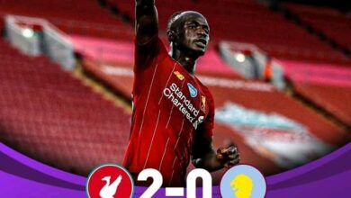 Photo of FT: Liverpool 2-0 Aston Villa, Mane And Curtis Jones On Target For Reds (Match Highlight)