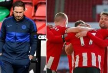 Photo of Chelsea Coach Frank Lampard Blasts Players After Sheffield United 3-0 Loss