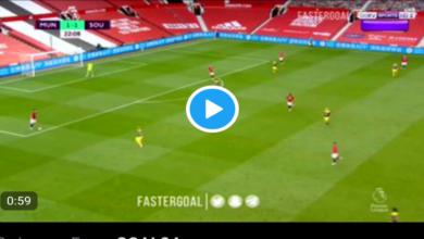 Photo of GOALLL Martial Scores, Manchester United 2-1 Southampton (VIDEO)