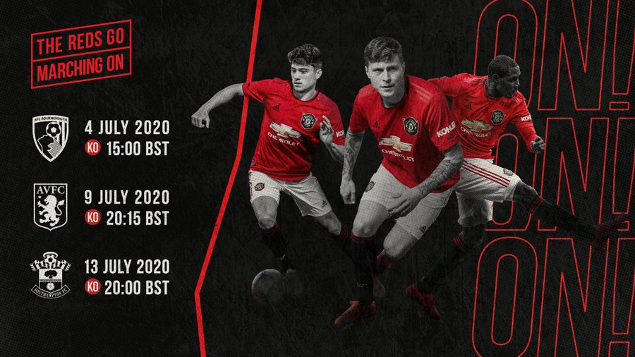 Manchester United 2020-21 Premier League Fixtures