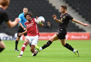 MK Dons Arsenal