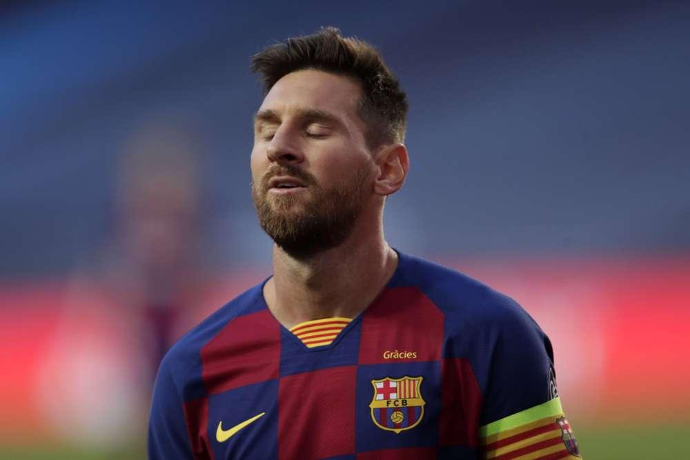 Lionel Messi Man. City