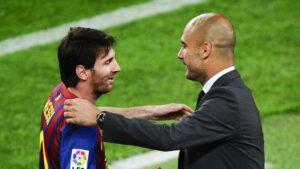 Lionel Messi Pep Guardiola