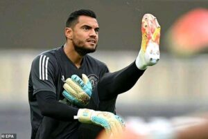 Romero Aston Villa Man United