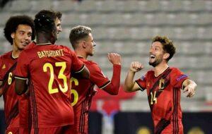 Belgium goal