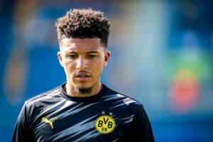 Jadon Sancho Man United Dortmund
