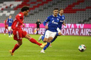 Leroy Sane Bayern Munich Schalke