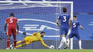 Chelsea Liverpool Allison Save