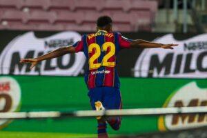 Barcelona Villarreal Fati