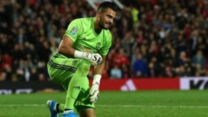 Sergio Romero Man United