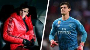 Gareth Bale Thibaut Courtois