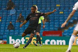 Sterling goal Leeds United