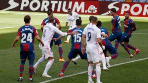 Levante Real Madrid Vinicius goal