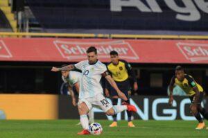 Lionel Messi Argentina Ecuador