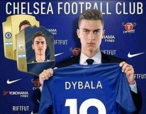 Chelsea Dybala Juventus