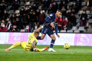 Mbappe vs Nimes goal