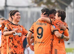 Spezia Juventus goal.