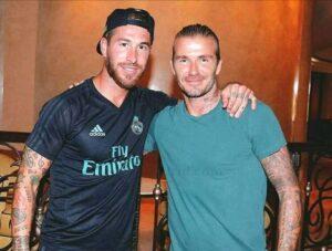 David Beckham Sergio Ramos