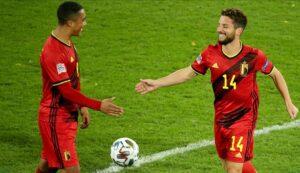 Belgium England
